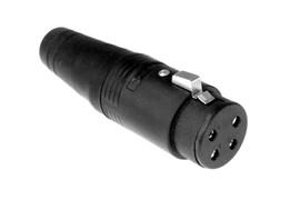 Amphenol AP-6-11 Кабельный разъем для громкоговорителей, AP Серия, Мама, Термопластик, Точеные контакты, 6 контактов