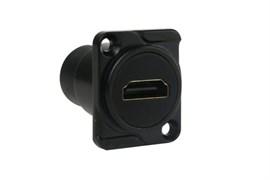 Amphenol AC-HDMI-RRB HDMI - HDMI D SHELL PANEL BLACK