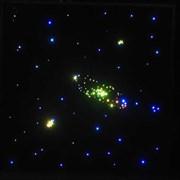 "UPLIGHTING STAR SKY ceiling ""Подвесой потолок «Звездное небо»"" площадь модуля 3,24 м2 Размер панели: 600х600 х 18 мм 9 панелей в комплекте"